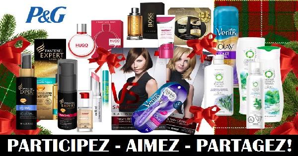 Concours Gagnez un ensemble-cadeau de produits de beauté!