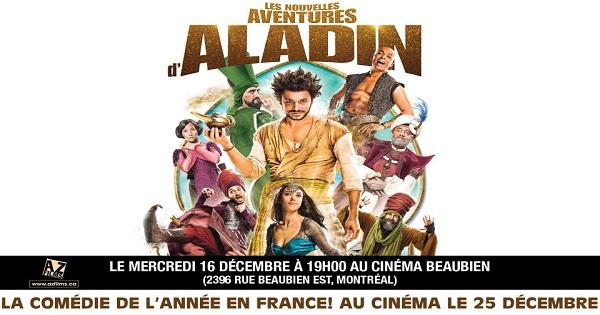 Concours Les nouvelles aventures d'Aladin!