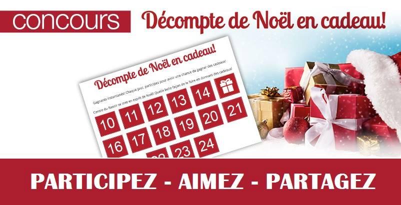 Concours Calendrier de l'Avent de Centre Du Rasoir!