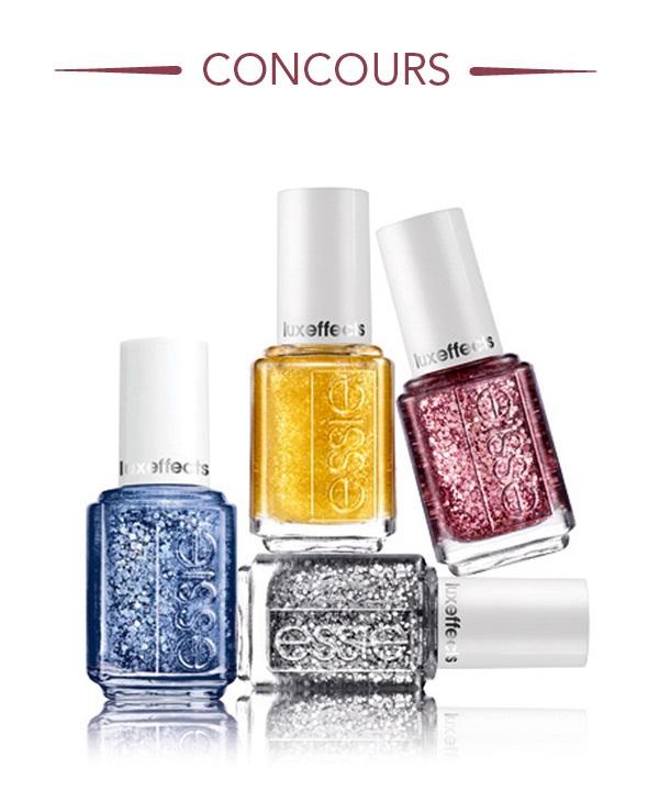 Concours Gagnez un ensemble de produits pour les ongles!