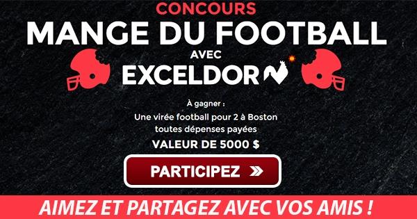 Concours Gagnez un voyage a Boston pour un match de Football!
