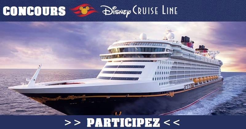 Concours Voyagez à bord du Disney Fantasy!