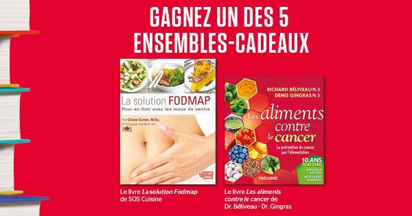 Concours Gagnez un ensemble-cadeaux contenant des livres de cuisine!