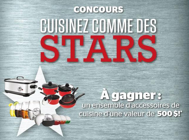Concours Gagnez un Ensemble d'Accessoires de Cuisine