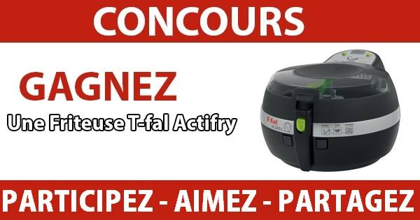 Concours Gagnez une friteuse Actifry Express!