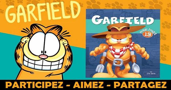 Concours Gagnez le livre Garfield Poids Lourd #13!