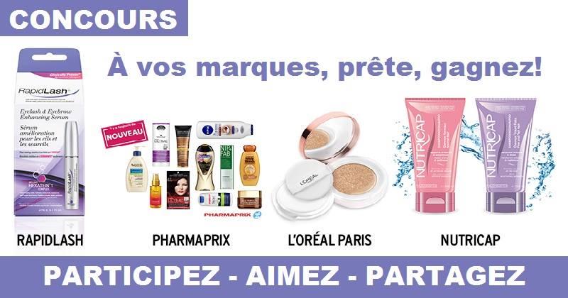 Concours Gagnez un ensemble cadeaux de produits de beauté!