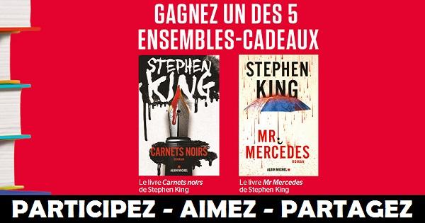 Concours Gagnez un ensemble de livres de Stephen King!