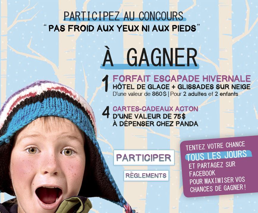 Concours Gagnez une Escapade Hivernale à l'Hôtel de Glace