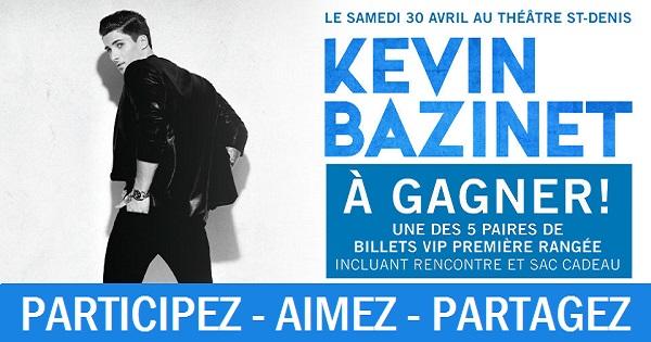 Concours Voyez Kevin Bazinet en show!