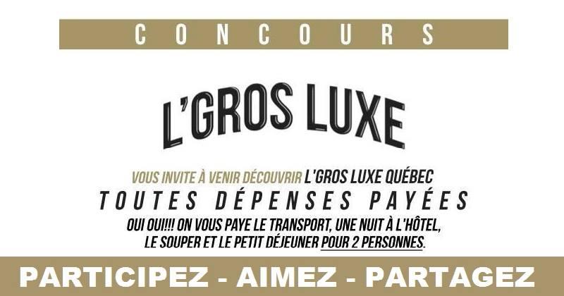 Concours Gagnez un voyage à Québec!