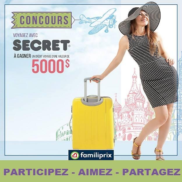 Concours Gagnez 5000$ en crédit-voyage!