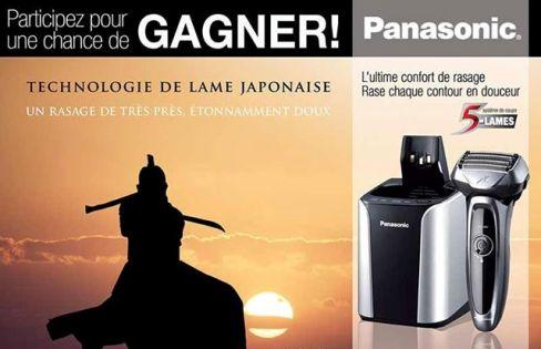 Concours gagnez un rasoir Lamdash à 5 lames de Panasonic et système HydraClean