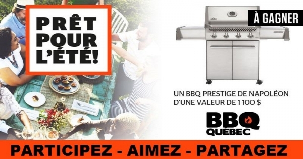 concours gagnez un barbecue prestige 500 propane en. Black Bedroom Furniture Sets. Home Design Ideas