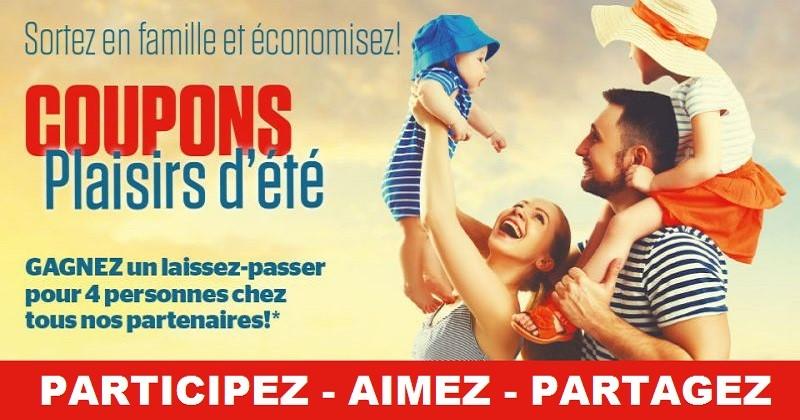 Concours Gagnez un laissez-passer pour 4 personnes valide durant la saison estivale 2016!