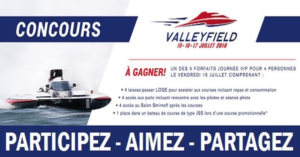 Concours Gagnez un forfait VIP pour quatre 4 personnes aux Régates de Valleyfield!
