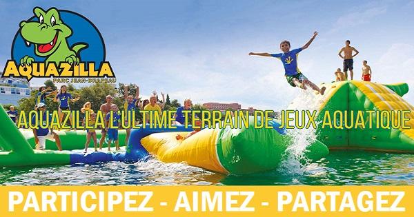 Concours Gagnez votre forfait famille Aquazilla VIP!