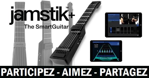 Concours Gagnez une guitare connectée Jamstik+ qui peut imiter le son de plusieurs instruments!