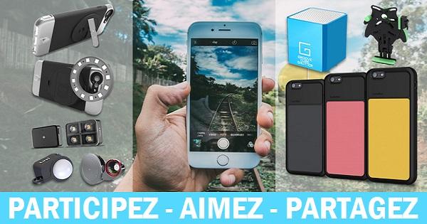 Concours Gagnez des gadgets pour prendre de meilleures photos et vous amuser avec votre iPhone 6!