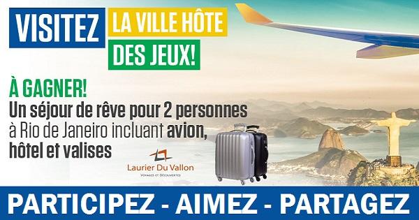 Concours Gagnez un crédit voyage d'une valeur de 5 000$ incluant 2 valises!