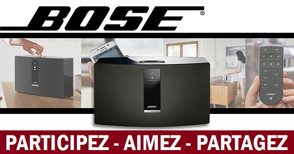 Concours Gagnez un haut-parleur Bose contrôlable avec votre téléphone intelligent!