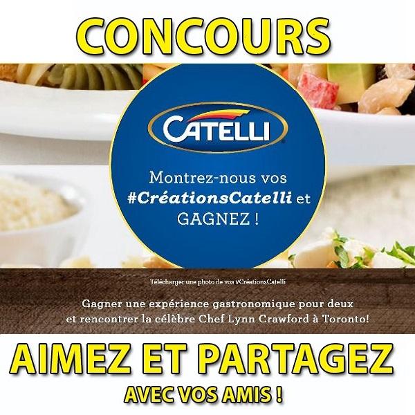 Concours Gagnez une expérience gastronomique pour deux et rencontrer la célèbre Chef Lynn Crawford à Toronto!