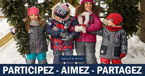 Concours Gagnez un habit de neige Souris Mini!