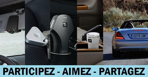Concours Gagnez un ensemble de gadgets pour retrouver facilement où vous avez garé votre voiture!