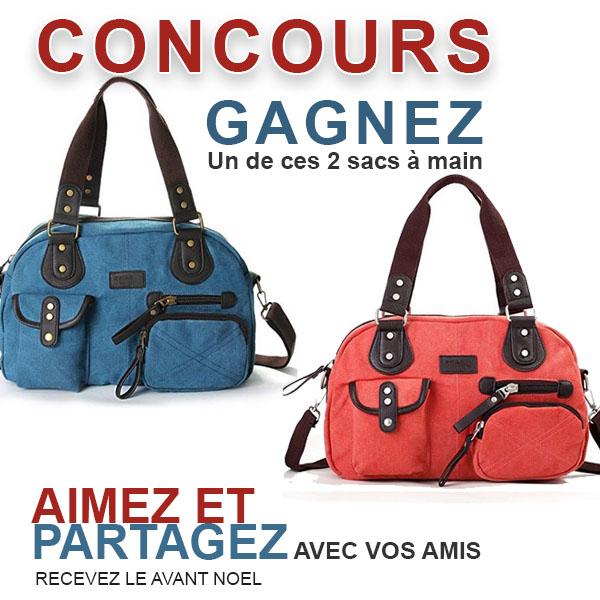 CONCOURS EXCLUSIF - Concours GAGNEZ un Sac à Main