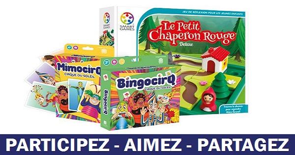 Concours Gagnez un ensemble de 3 jeux de Pierre Belvédère pour vos petits!