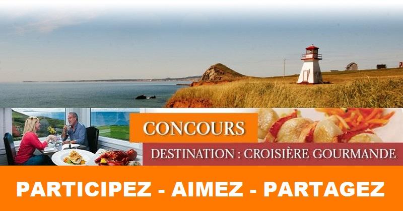 Concours Gagnez la croisière thématique Les Îles gourmandes pour 2 personnes!