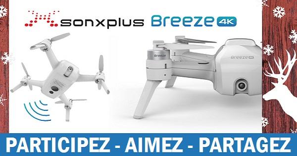 Concours Gagnez un drone Yuneec qui filme en 4K grâce à SONXPLUS!