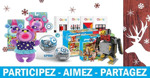 Concours Gagnez l'un des deux ensembles de jouets pour enfants!