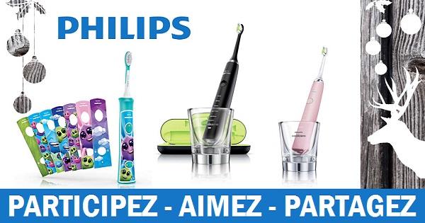 Concours Gagnez trois brosses à dents électriques Phillips pour adultes et enfants!