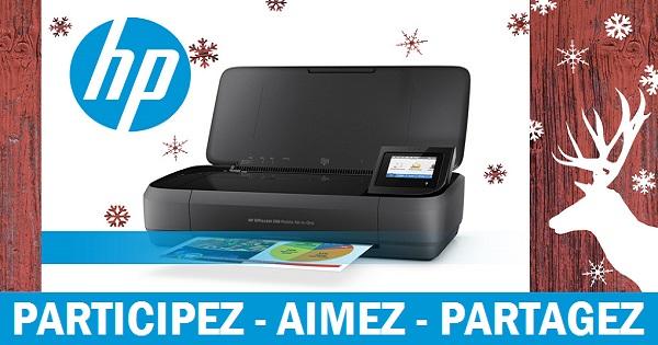 Concours Imprimez peu importe où vous êtes avec cette imprimante sans fil HP!