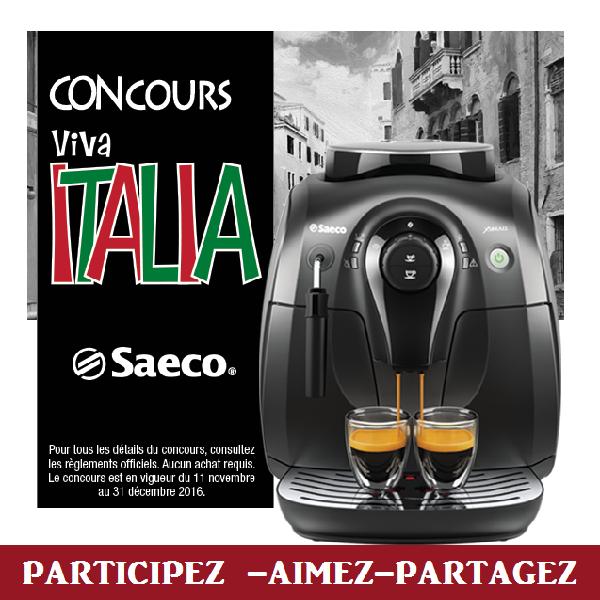 Concours Gagnez un voyage en Italie!