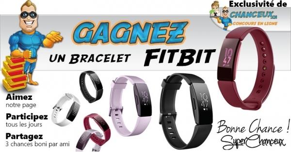 CONCOURS EXCLUSIF - Concours Gagnez un Bracelet Fitbit Flex
