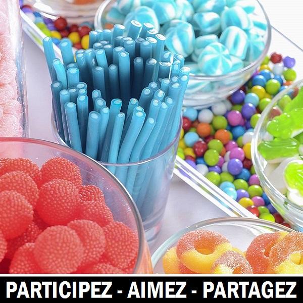 Concours Gagnez des friandises pour un bar à bonbons KandJu!