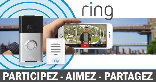 Concours Gagnez une sonnette Ring qui vous indique qui se trouve derrière la porte!