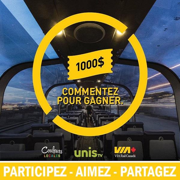 Concours Gagnez un crédit-voyage de 1000$!