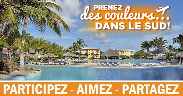 Concours Gagnez un séjour mémorable pour 2 personnes dans le confort de l'hôtel Melia Cayo Santa Maria à Cuba!