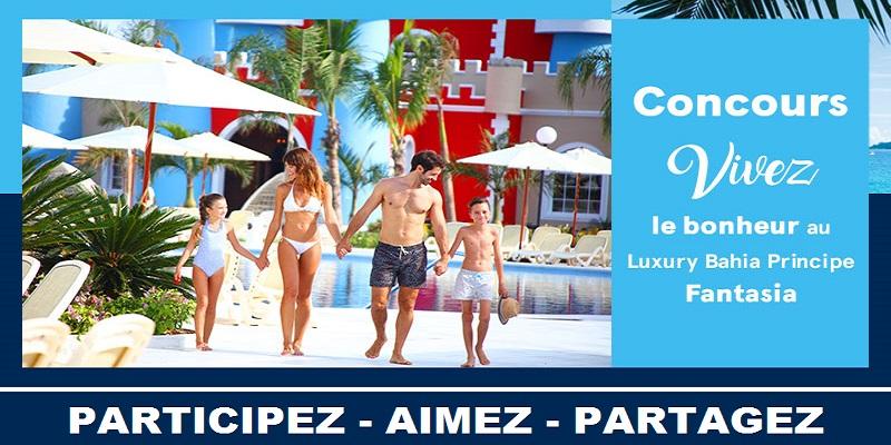 Concours Gagnez un voyage familial à Punta Cana!