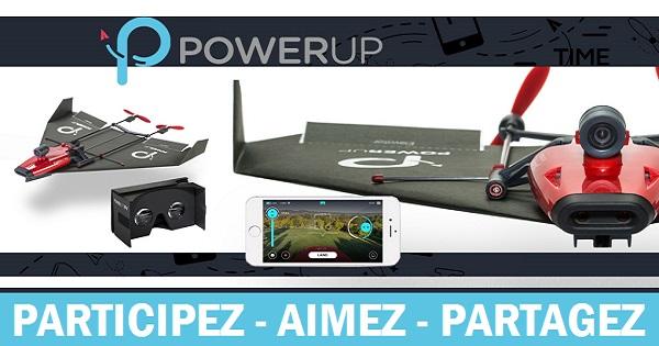 Concours Gagnez un drone qui s'attache à un avion en papier et qui filme des images aériennes!