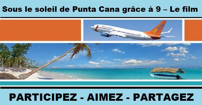 Concours Gagnez un voyage pour deux à Punta Cana en République Dominicaine!