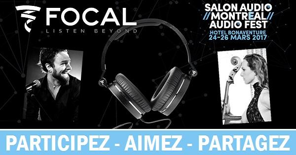 Concours Gagnez des écouteurs portés par Antoine Gratton ou Jorane au Salon Audio de Montréal!