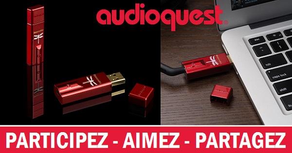 Concours Gagnez un CAN USB DragonFly Red grâce au Salon Audio de Montréal et AudioQuest!