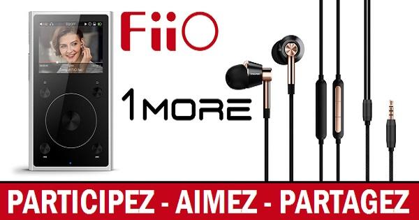Concours Gagnez un lecteur de musique Fiio et des écouteurs grâce au Salon Audio de Montréal!