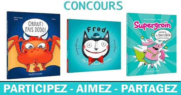 Concours Gagnez un ensemble de trois livres publiés chez Librex!