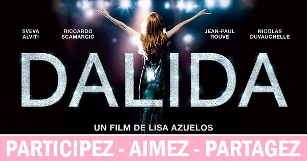 Concours Assistez à la première du film DALIDA!