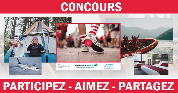 Concours Gagnez l'aventure canadienne de votre vie en compagnie d'un ami!